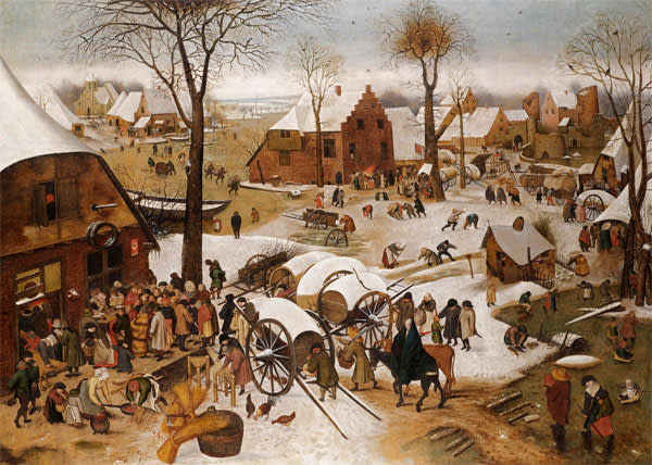 'The Census at Bethlehem' by Pieter Brueghel the Younger