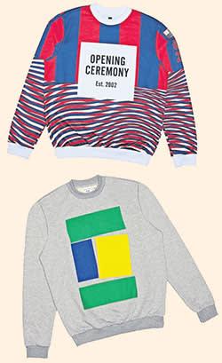 Sweatshirts designed for Yoox