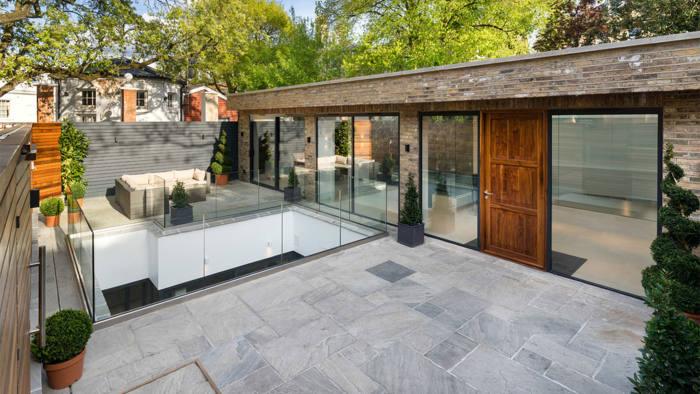 Langtry House near Hampstead Heath, London