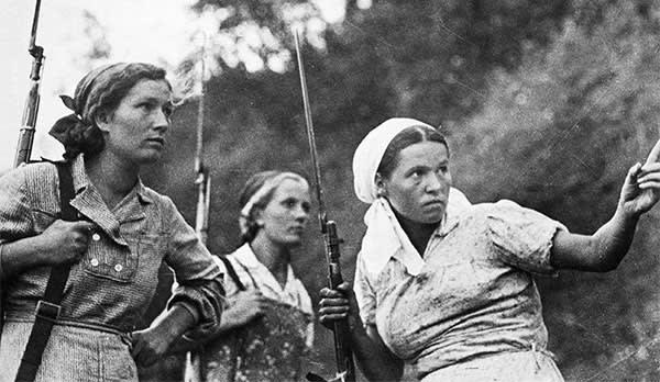 Soviet partisans, August 1941