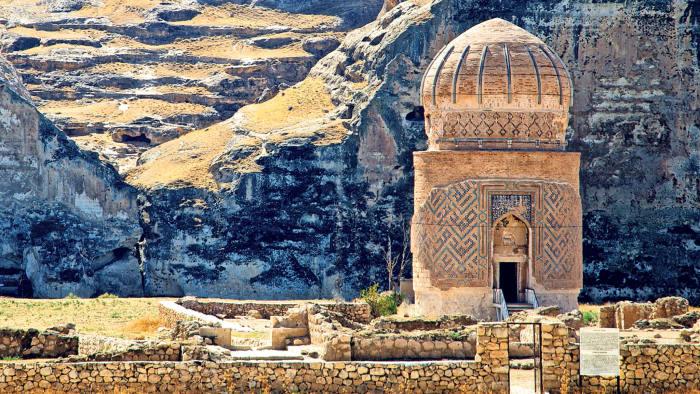 The mausoleum of Zeynel Bey at Hasankeyf