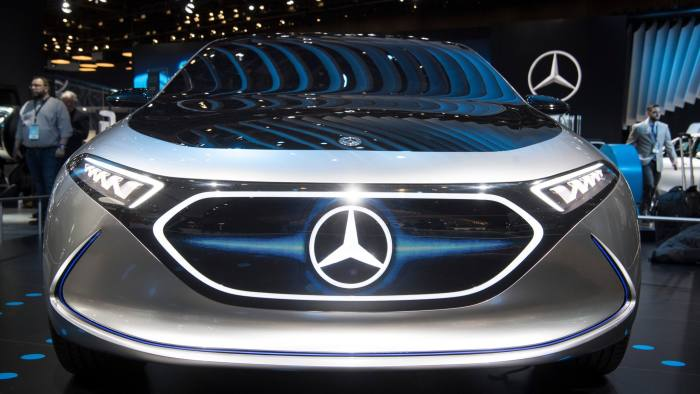 Mercedes presents the Concept-'EQ' at the 2018 North American International Auto Show in Detroit, Michigan, US, 15 January 2018. Photo: Boris Roessler/dpa