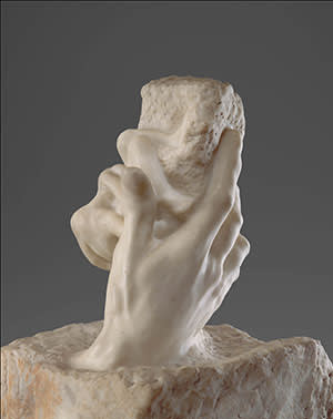 Auguste Rodin's 'The Hand of God' (c1907)