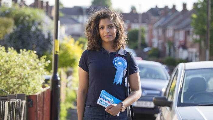 Coventry election story. Resham Kotecha, Conservative candidate for Coventry North West, campaigning in the area. Words: Josh Chaffin.