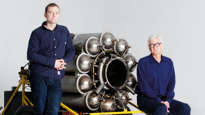Jake (left) and James Dyson