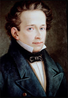 Portrait of Giacomo Leopardi (1798-1837)