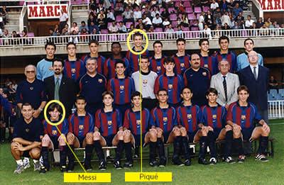 FC Barcelona's cadet (under 15s) team, 2001-2002