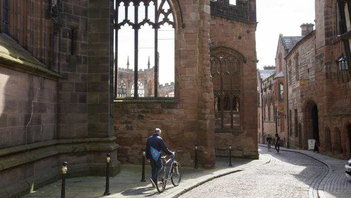 Coventry election story. Coventry Cathedral. Words: Josh Chaffin.