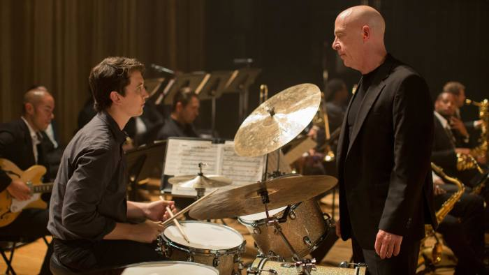 Miles Teller and J.K. Simmons in 'Whiplash'