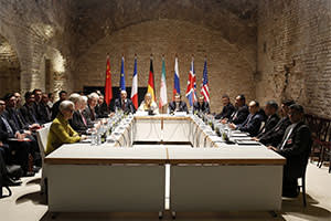 Progress? Iranian officials at the nuclear talks with six major powers in Vienna