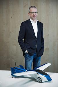 Juraj Vaculik in his office in Bratislava