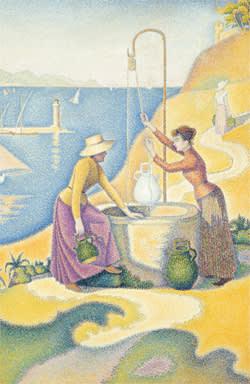 Paul Signac's 'Femmes au puits' (1892)