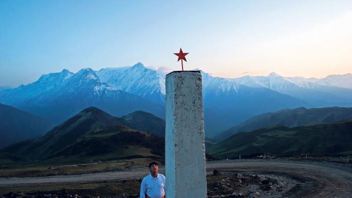 Memorial to Russian border guards in the Caucasus, 2013