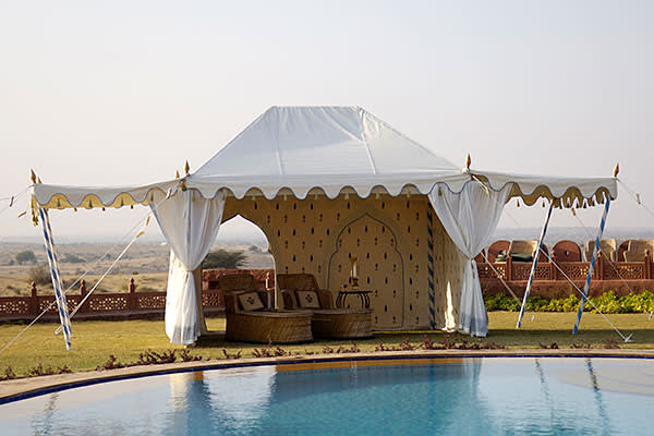 Haveli tent by the Indian Garden Company