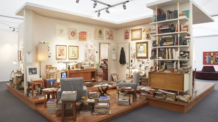 Helly Nahmad Gallery - a recreation of 1960s art collector's Paris flat at Frieze Masters