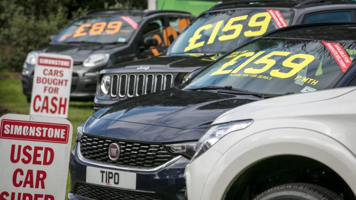 Used Car Pile Up Signals A Diversion In The Auto Trade Financial Times