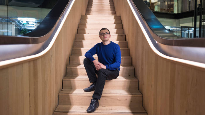 CEO of Deepmind, Demis Harrabis.
