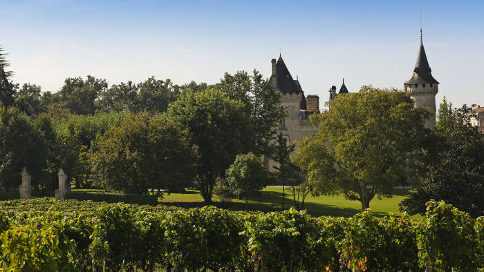 A 10-bedroom château as well as several cottages on the edge of the city of Bordeaux, with 60 hectares of vineyard, producing about 400,000 bottles per year, €22m