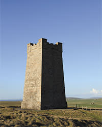 The tower built in the 1920s in Orkney to commemorate Lord  Kitchener's death