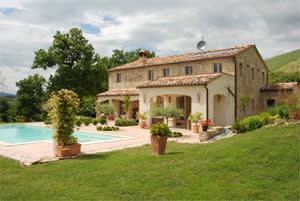 A five-bedroom farmhouse in Le Marche, Italy