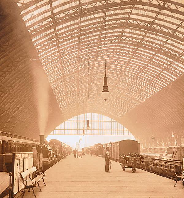 St Pancras Station, 1800s