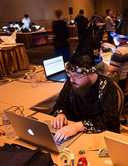 Images from Def Con 22, which took place in Las Vegas from August 7 to 10 2014