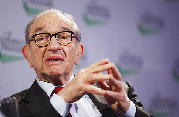 Alan Greenspan, former chairman of the US Federal Reserve