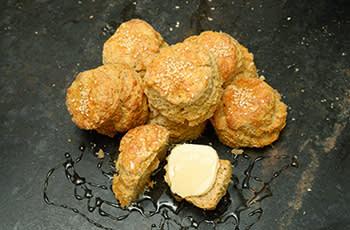Sesame scones