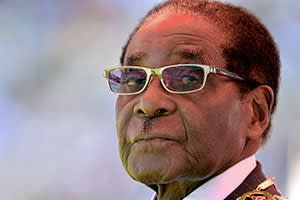 Robert Mugabe in 2013