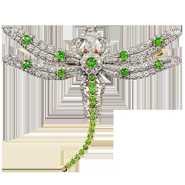 Dragonfly brooch by  Bentley & Skinner