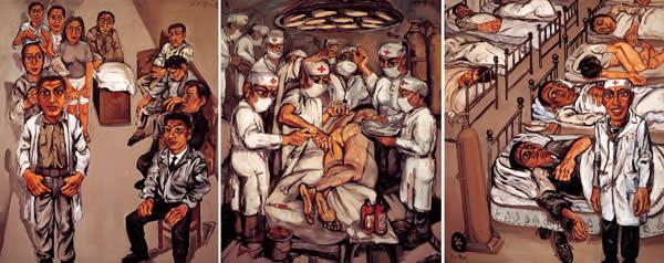 1991: 'No 1 Hospital Triptych'