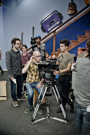 Shooting the Fine Brothers' mockumentary 'My Music'