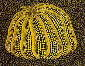 'Pumpkin' (1998) by Yayoi Kusama