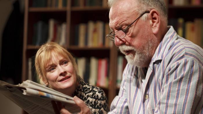 Claire Skinner and Kenneth Cranham