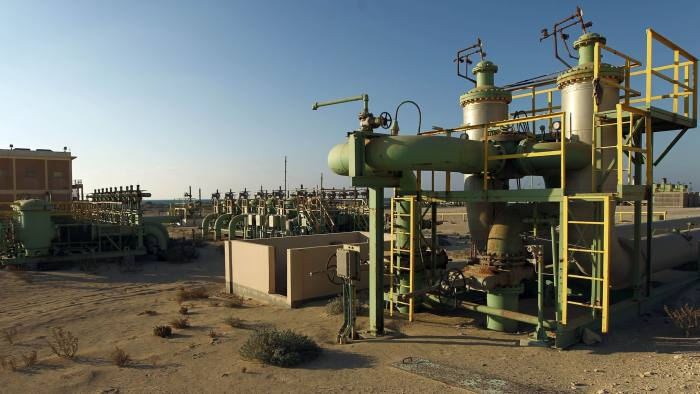 A picture shows a general view at the Zueitina oil terminal on September 14, 2016. Forces opposed to Libya's unity government handed management of four vital oil ports to the National Oil Company on September 14, after seizing them in a blow to fragile peace efforts. Prime minister-designate Fayez al-Sarraj called for urgent talks after the ports were captured by forces loyal to Field Marshal Khalifa Haftar, who supports a rival administration in the country's east.  / AFP / Abdullah DOMA        (Photo credit should read ABDULLAH DOMA/AFP/Getty Images)