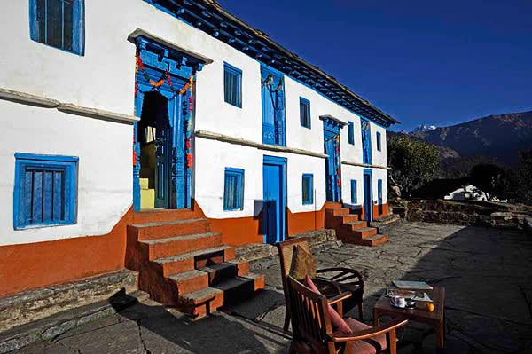 The Village Ways inn occupies a berklay in Supi village in the Saryu Valley