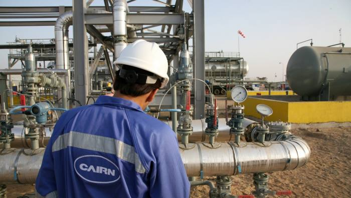 A worker is seen working at Cairn Energy Plc's Mangala processing terminal in Rajasthan, India, in this undated handout photograph, released to the media on Thursday, Aug. 12, 2010. Vedanta Resources Plc is in talks to purchase assets or take a multibillion-dollar equity stake in Cairn Energy Plc, a U.K. oil and gas exploration company, according to people with knowledge of the matter. Source: Cairn Energy via Bloomberg EDITOR'S NOTE: EDITORIAL USE ONLY NO SALES.