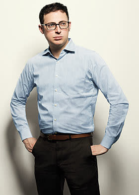Nate Silver photographed for the FT Magazine in NY
