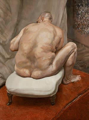 Lucian Freud's 'Naked Man, Back View'
