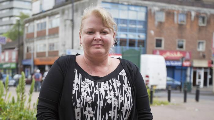 Coventry election story. Trish Evans, chief executive of the Watch Centre, in the Hillfields area of Coventry. Words: Josh Chaffin.