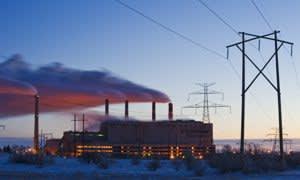 Boundary Dam coal fired power plant, Estevan, Saskatchewan, Canada