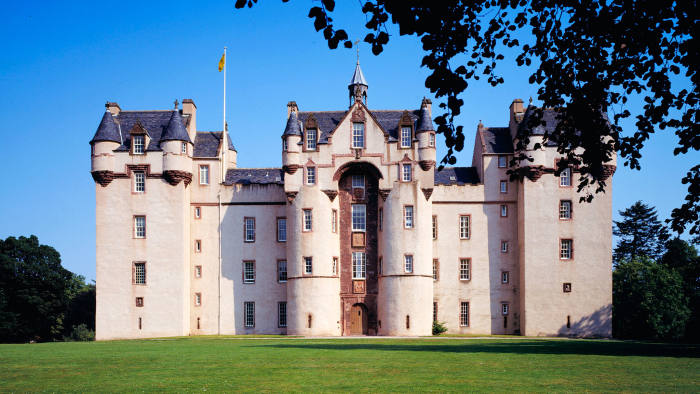 Fyvie Castle in Aberdeenshire, one of a growing number of Scottish castles available to rent