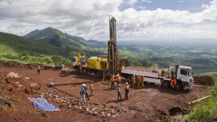 Simandou mining in Guinea