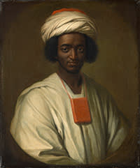 Ayuba Suleiman Diallo (Job ben Solomon) by William Hoare, oil on canvas, 1733