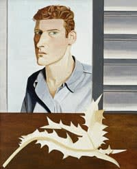 Lucian Freud's 'Man with a Thistle (Self-portrait)'