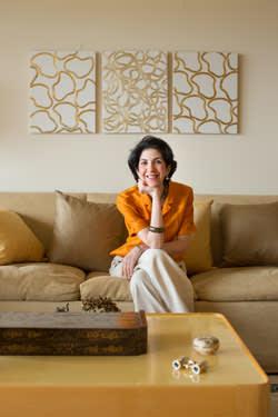 Fabiola Gianotti in her Geneva home