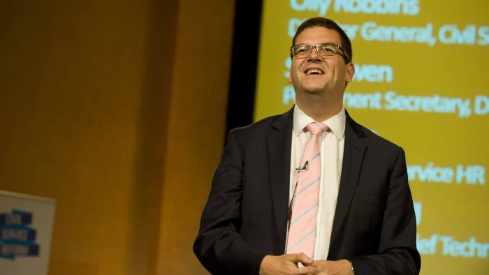 Olly Robbins, Director General, Civil Service