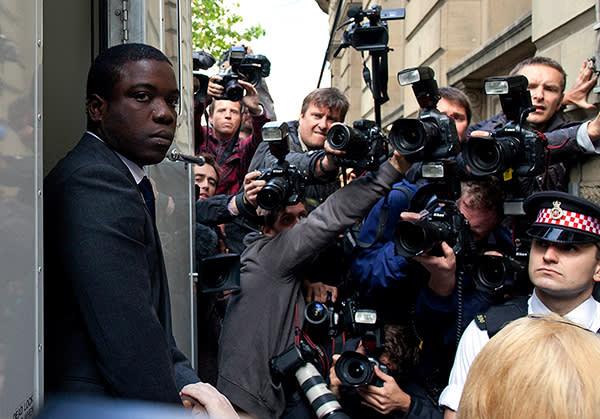 Kweku Adoboli arriving at the City of London Magistrates' Court, September 2011