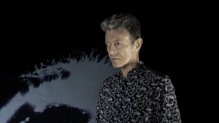 David Bowie, whose new album was released on January 8