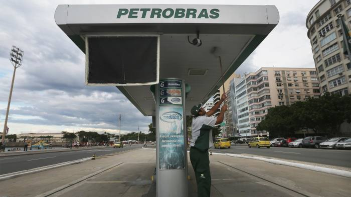 Petrobras and improving policy outlook help Brazil's markets